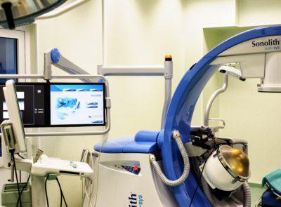 Pierwszy zabieg z wykorzystaniem nowoczesnego aparatu do rozkruszania kamieni nerkowych (ESWL)