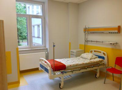 Pierwsze piętro Pediatrii już otwarte!