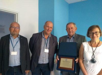 Podziękowania dla Fundatorów Pracowni Biomarkerów CFTR – Państwa Jadwigi i Juliana Bąkowskich