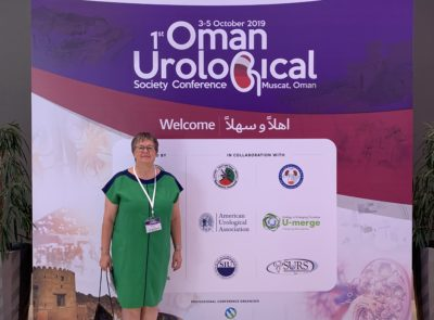 "Prof. dr hab. n. med.  Beata Jurkiewicz uczestniczyła w Kongresie Urologicznym ""The Role of Open Surgery in Children with Urolithiasis – Single Center Experience"" w Omanie."