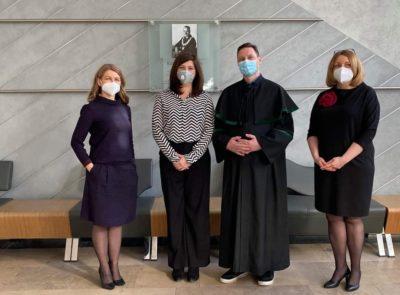 Obrona pracy doktorskiej – dr n. med. Joanny Samotyjek
